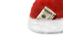 Dinheiro Christmas& Year-3 novo rico Fotografia de Stock Royalty Free
