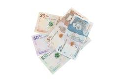 Dinheiro colombiano Imagens de Stock