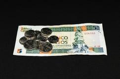Dinheiro cubano fotografia de stock royalty free