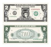 Dinheiro, dólar Imagem de Stock