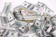 Dinheiro (dólares) Fotografia de Stock Royalty Free