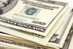 Dinheiro-Dólares Fotografia de Stock