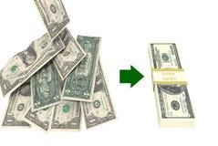 Dinheiro da economia Ilustração Stock