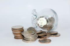 Dinheiro da economia Imagem de Stock
