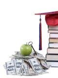 Dinheiro da faculdade Imagem de Stock