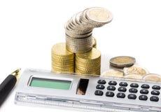 Dinheiro da partilha, orçamento imagem de stock