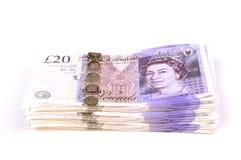 Dinheiro da pilha Fotos de Stock Royalty Free