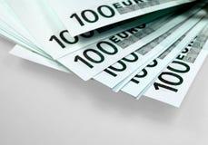 Dinheiro da União Europeia - euro Fotos de Stock