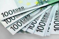 Dinheiro da União Europeia - euro Foto de Stock Royalty Free