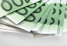 Dinheiro da União Europeia - euro Foto de Stock