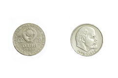 Dinheiro da União Soviética imagens de stock royalty free