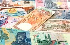 Dinheiro de Ásia Imagens de Stock