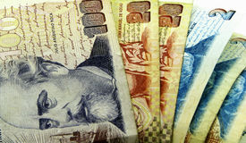 Dinheiro de Argentina Foto de Stock Royalty Free