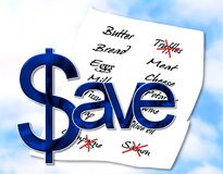 dinheiro de $ave Fotos de Stock Royalty Free