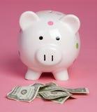 Dinheiro de banco Piggy Fotos de Stock
