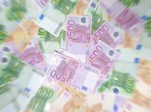 Dinheiro de Blured Foto de Stock