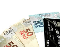 Dinheiro de Brasil imagem de stock