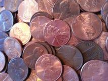 Dinheiro de cobre Foto de Stock
