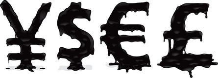 Dinheiro de derretimento Fotografia de Stock