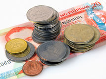 Dinheiro de Filipinas Fotografia de Stock