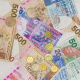 Dinheiro de Hong Kong Foto de Stock Royalty Free
