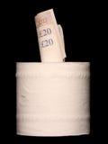 Dinheiro de jogo ausente Fotografia de Stock Royalty Free