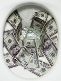 Dinheiro de nivelamento Fotos de Stock