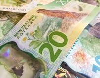 Dinheiro de $20 Nova Zelândia Fotos de Stock Royalty Free