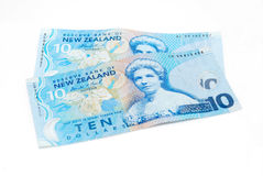 Dinheiro de Nova Zelândia imagens de stock