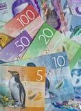 Dinheiro de Nova Zelândia fotos de stock royalty free