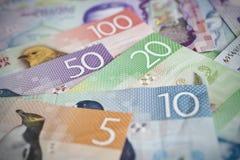 Dinheiro de Nova Zelândia imagem de stock