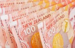 Dinheiro de NZ Foto de Stock