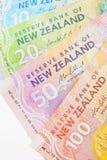 Dinheiro de NZ Imagem de Stock