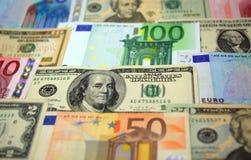 Dinheiro de papel Fotografia de Stock