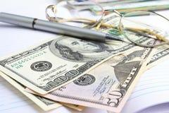 Dinheiro de papel imagens de stock
