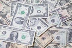 Dinheiro de papel dos E.U. fotos de stock