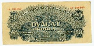 Dinheiro de papel velho da nota de banco Imagem de Stock Royalty Free
