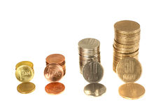 Dinheiro de Romania Foto de Stock Royalty Free