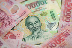 Dinheiro de Vietnam Foto de Stock