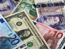 Dinheiro, dinheiro, dinheiro! Imagens de Stock