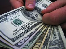 Dinheiro, dinheiro do dinheiro  fotografia de stock