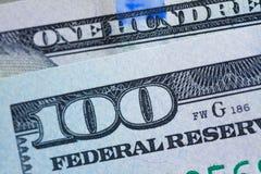 Dinheiro do dólar Fotografia de Stock