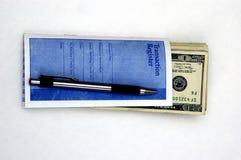 Dinheiro do depósito Imagem de Stock Royalty Free