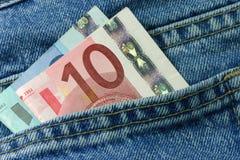 Dinheiro do dinheiro Foto de Stock