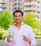 Dinheiro do dinheiro do dinheiro fotos de stock royalty free