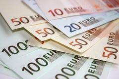Dinheiro do Euro Fotografia de Stock Royalty Free