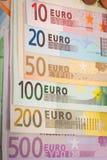 Dinheiro do Euro Imagens de Stock
