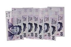Dinheiro do israeli do vintage Foto de Stock