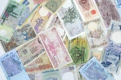 Dinheiro do mundo Imagem de Stock