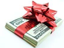 Dinheiro do Natal Imagens de Stock Royalty Free